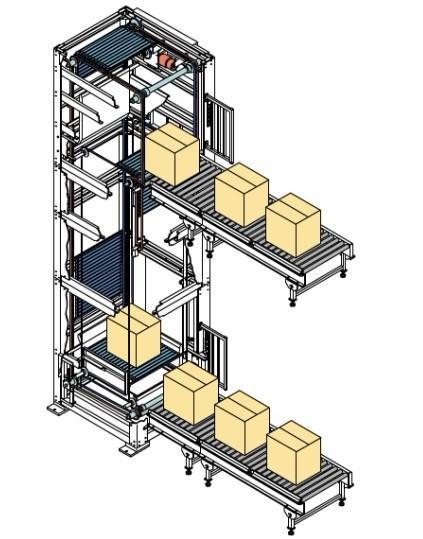 z型连续式垂直升降机